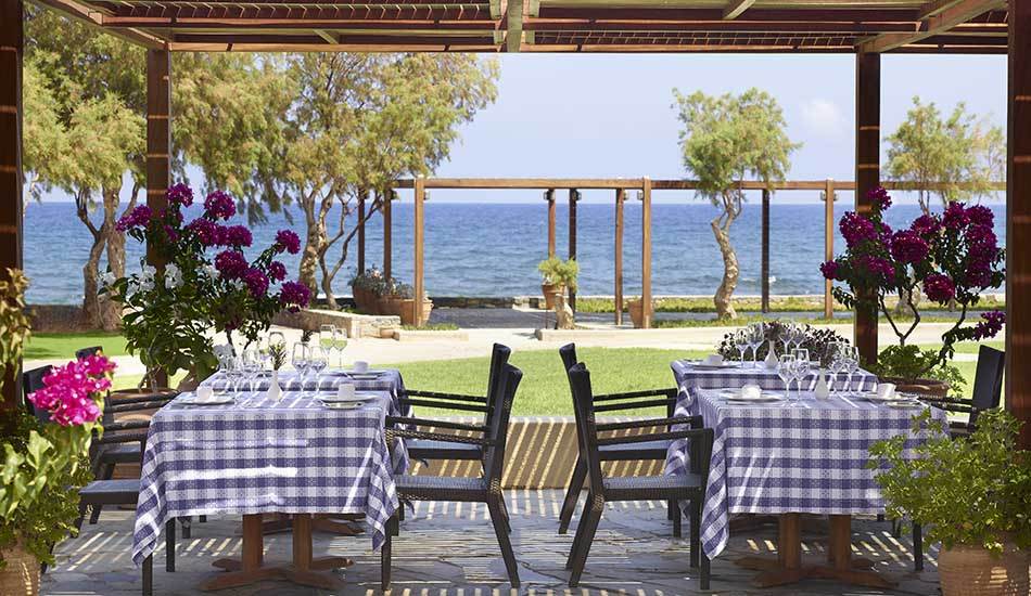 Thalassa A La Carte Restaurant Lunch with Sea View